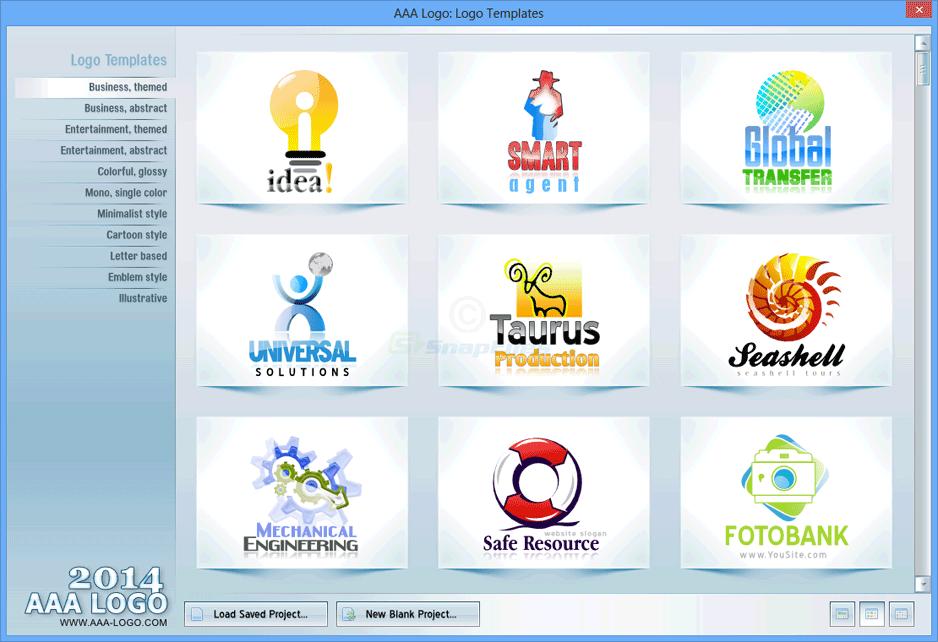 screenshot of AAA Logo