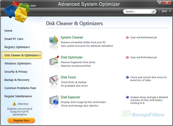 4 Responses to ADVANCE SYSTEM OPTIMIZER .