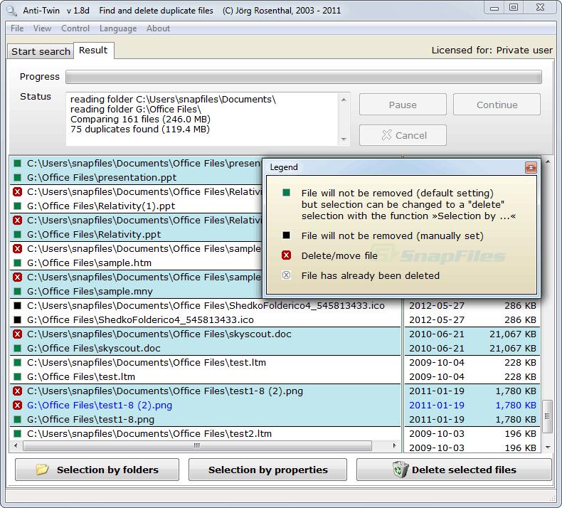 screenshot of Anti-Twin