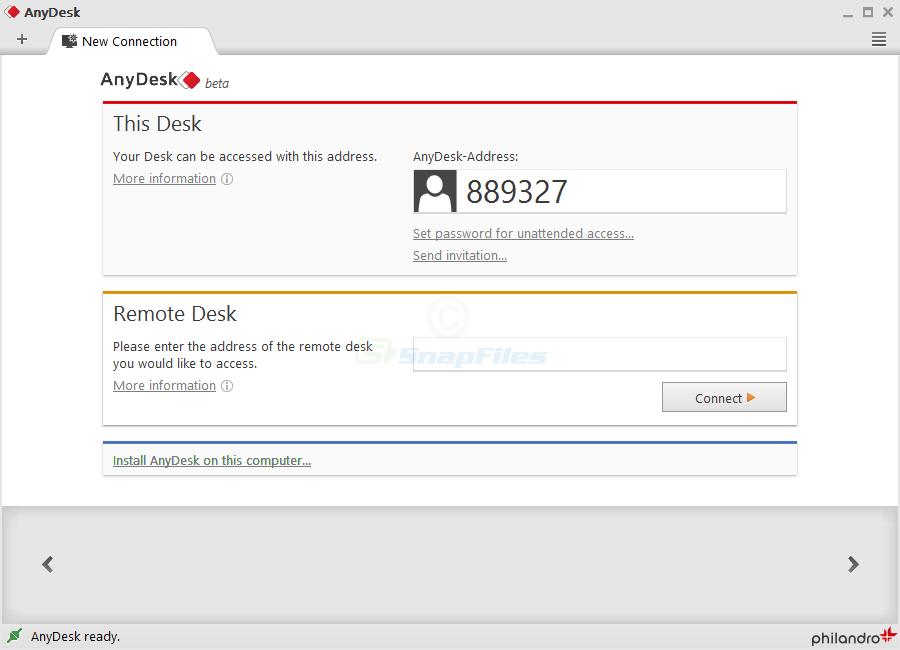 AnyDesk - remote desktop software