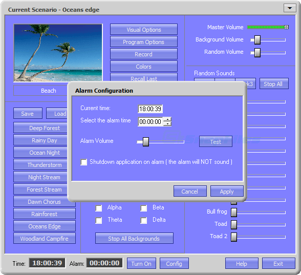 screenshot of Atmosphere Lite