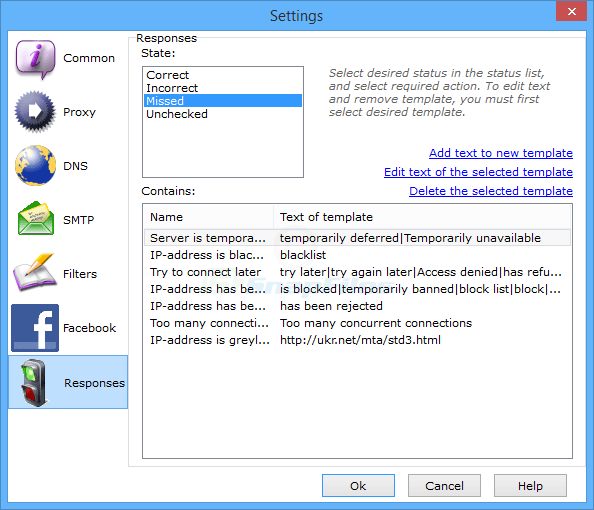 screenshot of Atomic Mail Verifier