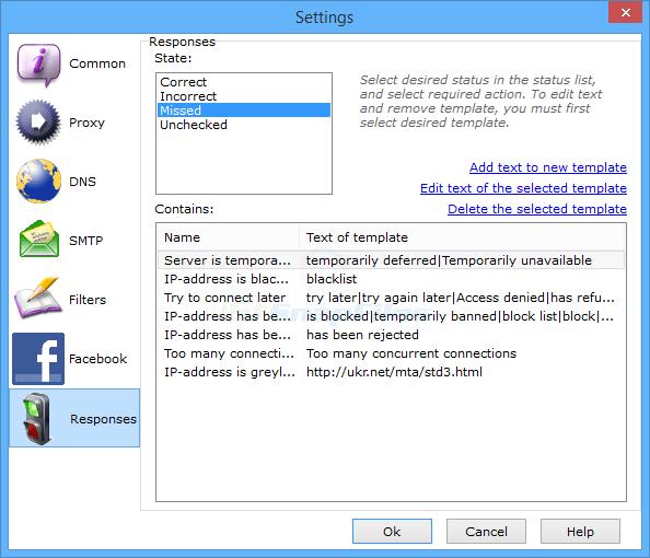 screenshot of Atomic Mail Verifier
