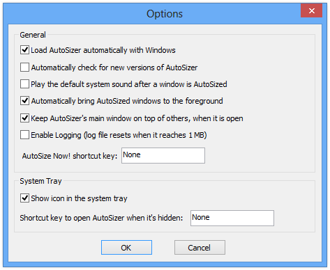 screenshot of AutoSizer