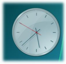 screen capture of Analogue Vista Clock