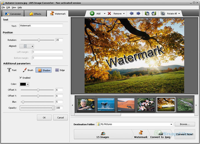 screenshot of AVS Image Converter