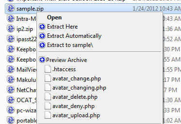screenshot of Bandizip