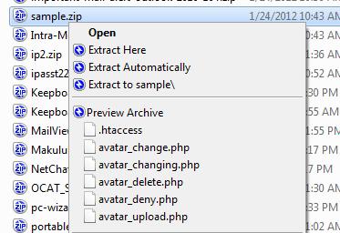 screenshot of Bandizip