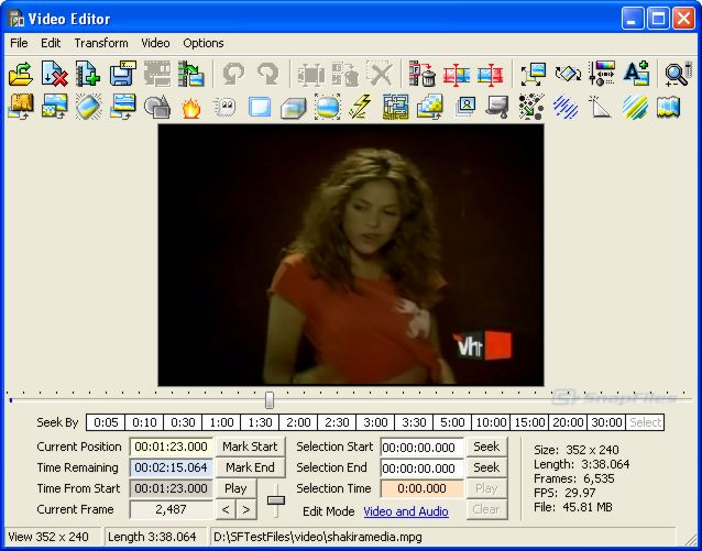 screenshot of Blaze Media Pro