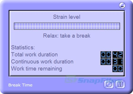 screenshot of Break Time