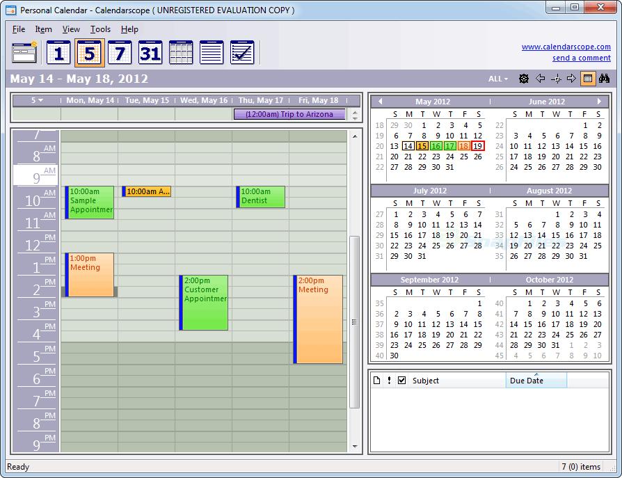 Kalender Programm