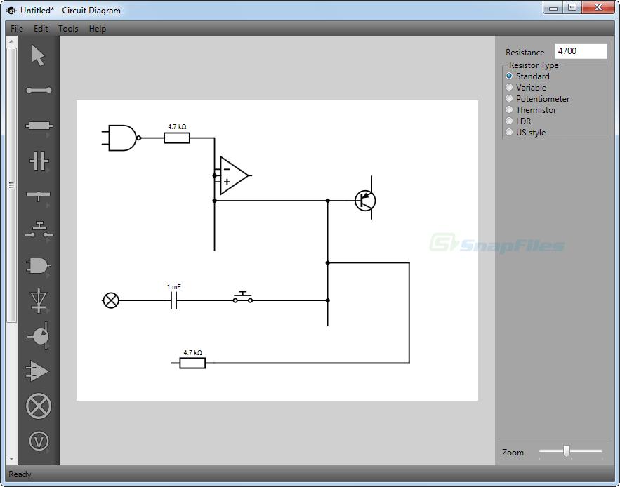 Circuit Diagram Screenshot And Download At Snapfiles Com