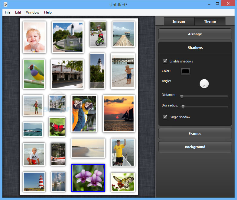screenshot of Collagerator