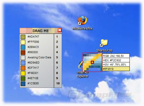 screen capture of ColorPlus