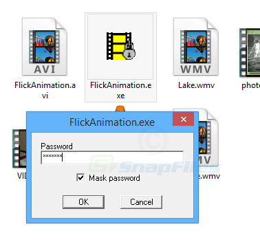 screenshot of CryptaFlix