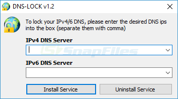 screen capture of Dns Lock