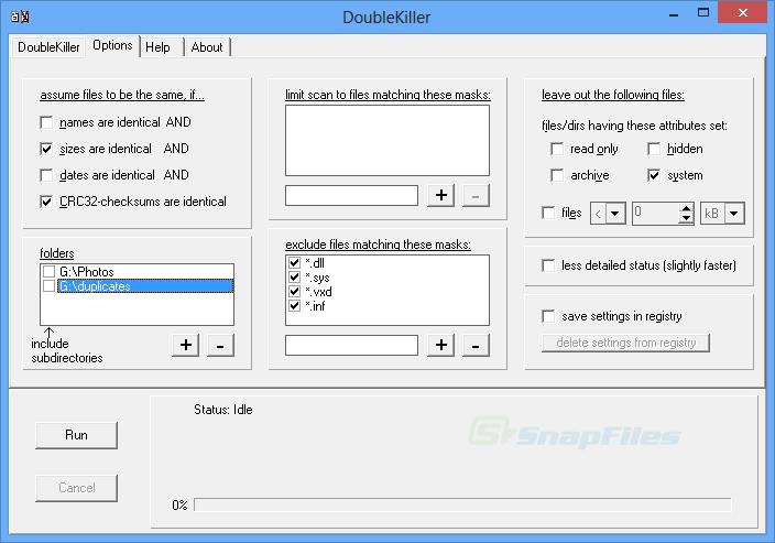 screenshot of DoubleKiller
