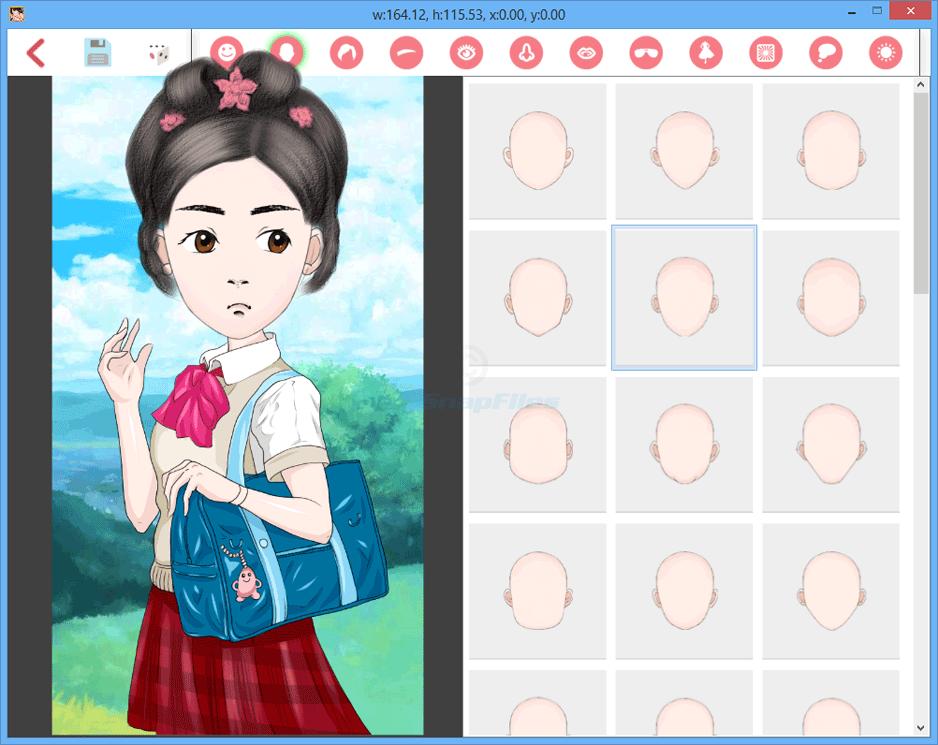 screen capture of DrawWiz