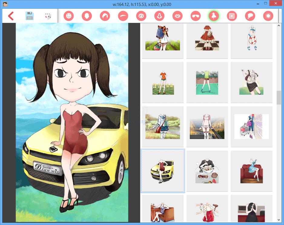 screenshot of DrawWiz