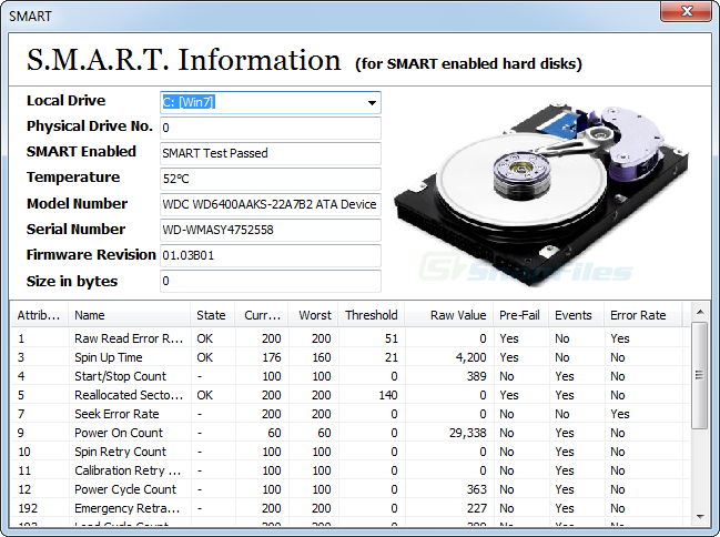 screenshot of Drive Manager