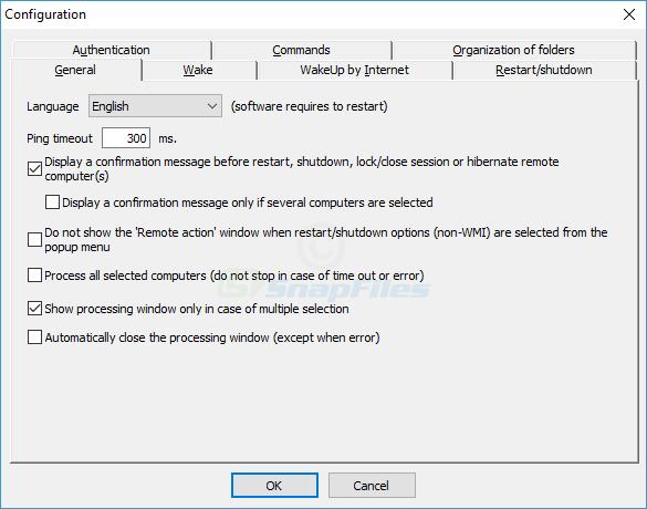 screenshot of Dipisoft WakeOnLan