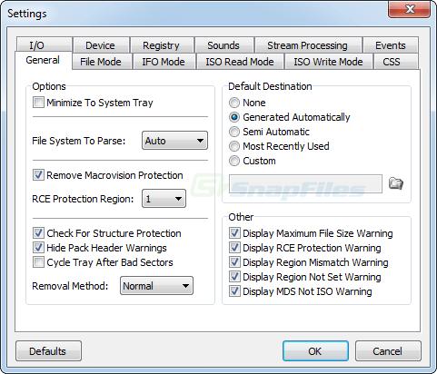 screenshot of DVD Decrypter