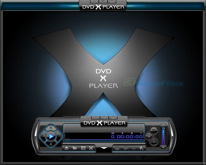 screen capture of DVD X Player