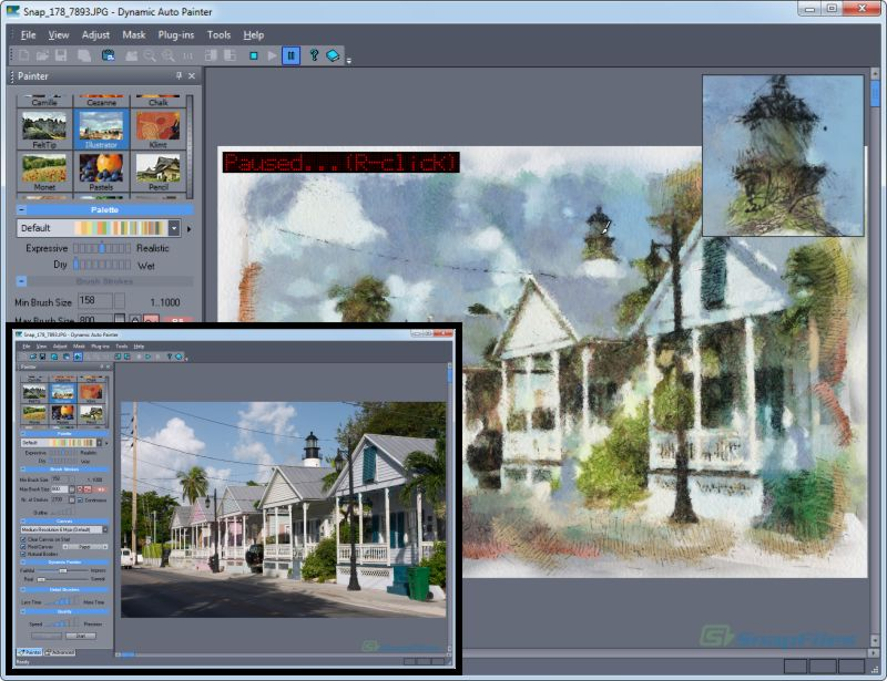 Dynamic Auto-Painter - transfrom your photos into art