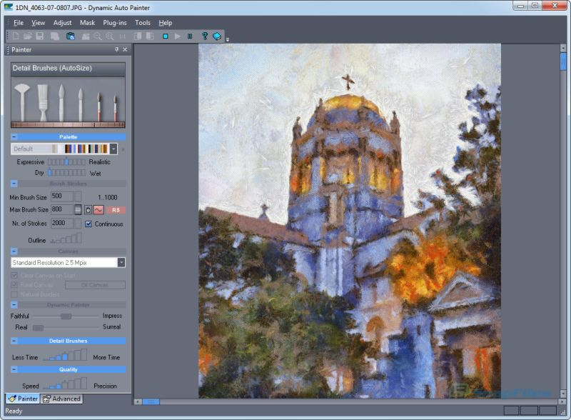 screenshot of Dynamic Auto-Painter