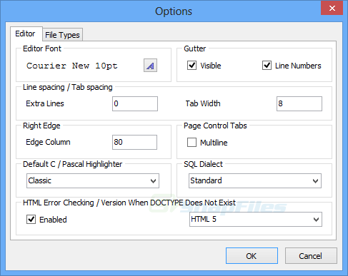 screenshot of Text Editor Pro