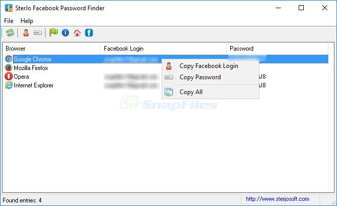 """Resultado de imagen de SterJo Facebook Password Finder"""""""
