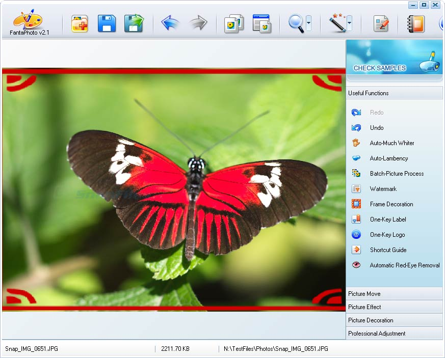 screen capture of IconCool FantaPhoto