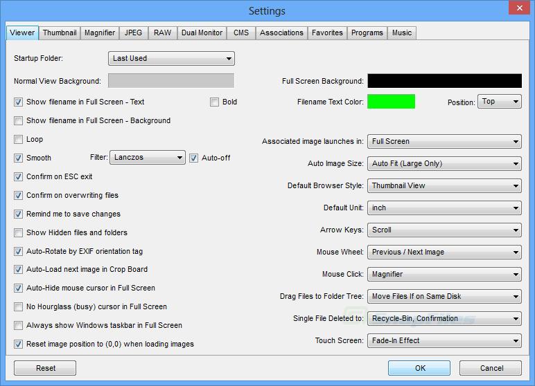 screenshot of FastStone Image Viewer