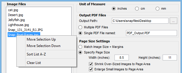 Image To PDF or XPS