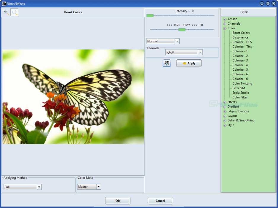screenshot of Focus Photoeditor