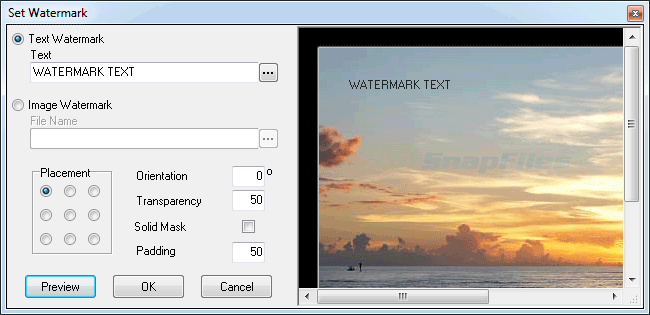 screenshot of FrameFun