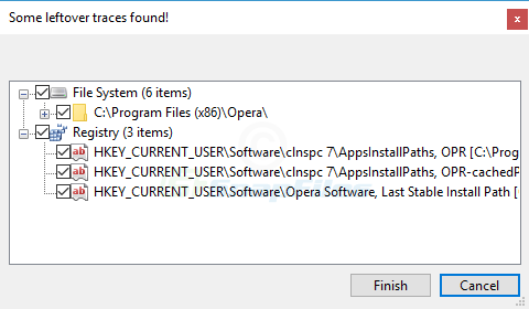 screenshot of Geek Uninstaller