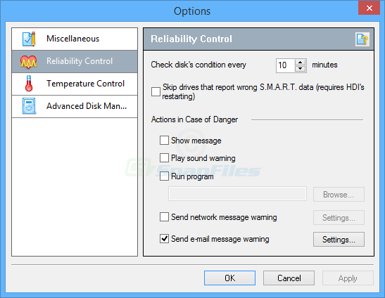 screenshot of Hard Drive Inspector