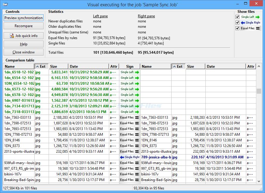 screenshot of Heatsoft Automatic Synchronizer
