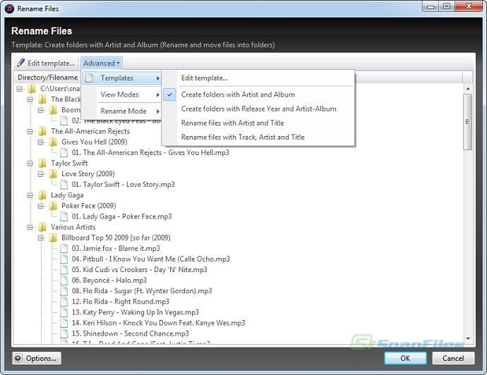 screenshot of Helium Music Manager