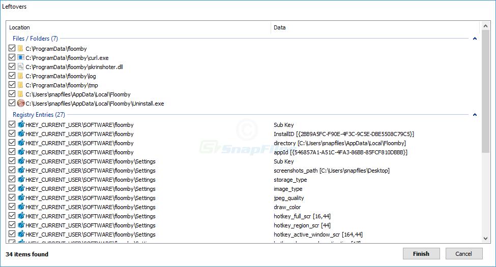 screenshot of HiBit Uninstaller