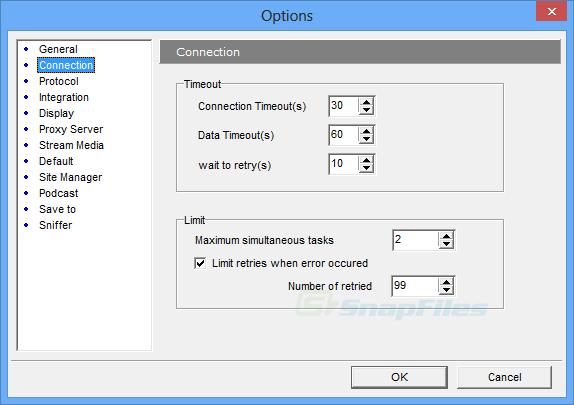 screenshot of HiDownload Platinum