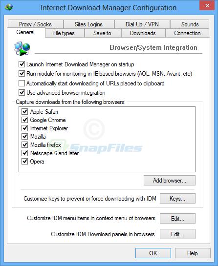 screenshot of Internet Download Manager