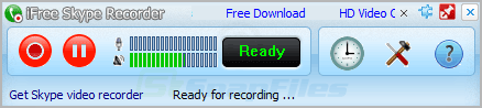 screenshot of iFree Skype Recorder
