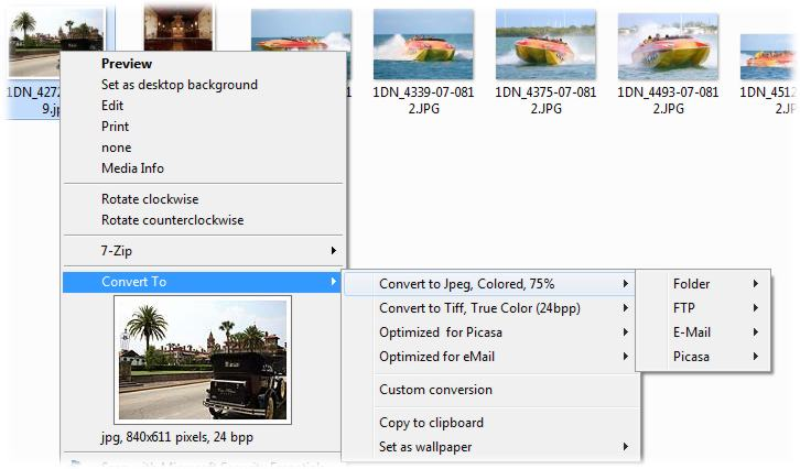screenshot of ImageConverter Plus