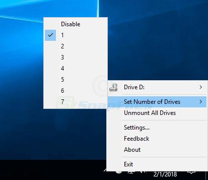 screenshot of ImgDrive