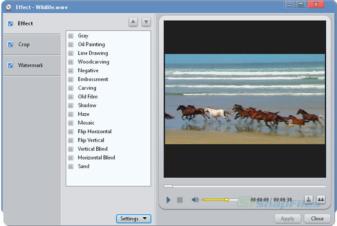 screenshot of ImTOO DVD Creator