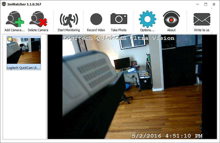 screen capture of ImWatcher