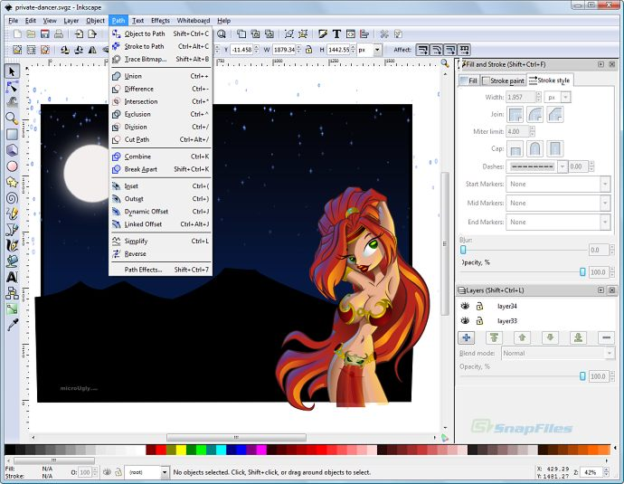 Inkscape Screenshot And Download At