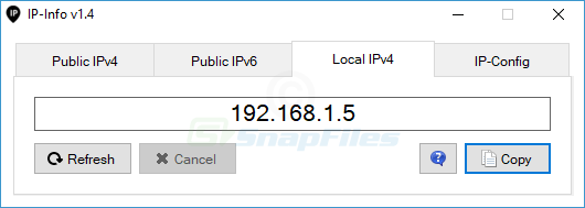 screenshot of IP-Info